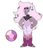 Rose Quartz GEMSONA by Yuka-Onuki