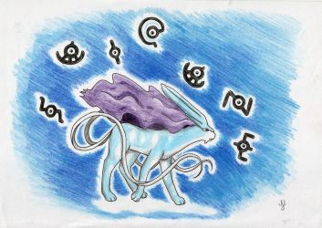 Pokemon #245: Suicune by Lexvandis