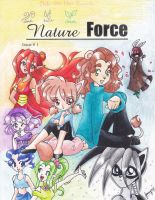 Nature Force issue 1: Cover circa 2000 by chibi-jen-hen
