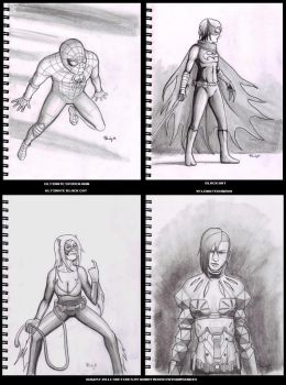 August Sketches 2011 by rmsk8r05