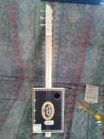 Cigar Box Guitar #1 by J-Knez