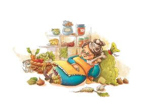 Old Mother Hubbard by MarinaVeselinovic
