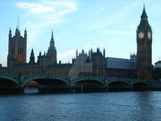 Houses of Parliament Day by Eszies-Eszie