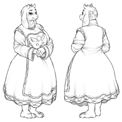 Toriel Sketches by cassetterecorder