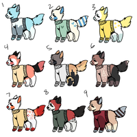 OPEN 20 Point Adopts by freshyadopts