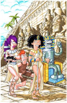 Futurama Egypt by ferah11