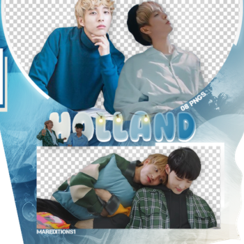 /PACK PNG/ HOLLAND. by MarEditions1