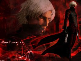 Devil May Cry - Dante by 7r1n17y