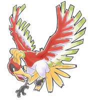 #250 Ho-oh by little-ampharos