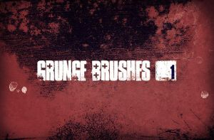 WG Grunge Brush Set1 by wegraphics