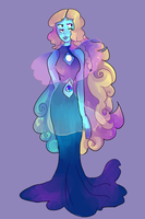Cobalt Aura Quartz by CrabStag