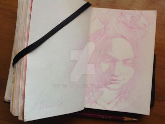 20 minutes synthesized drawing with Teresa Oaxaca by ivosirakov