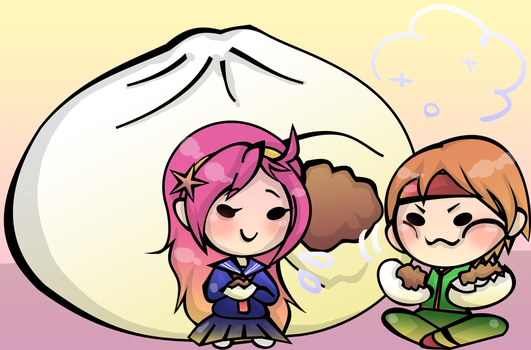 Steamed Meat Bun by gamimi