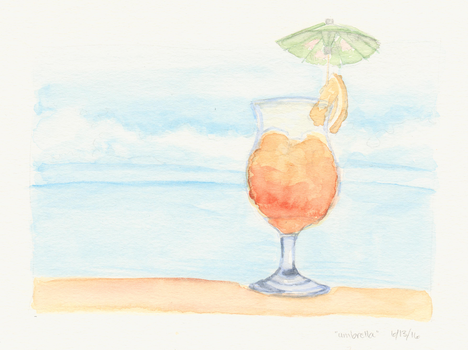 A Day at the Beach Cocktail by mclermon