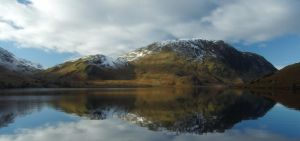 Wintery loweswater by chrispye77