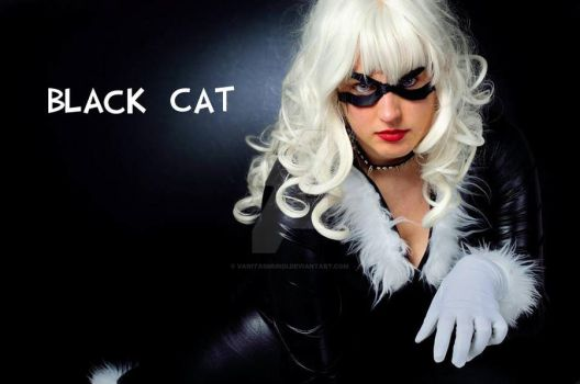 Black Cat Marvel by VanitasMundi