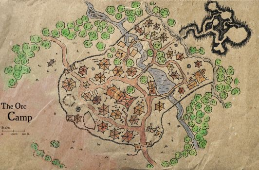 Orc Camp [map] by xTernal7