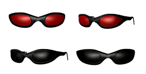 Sun Glasses png by mysticmorning