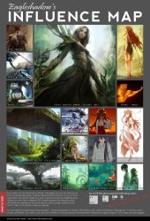Influence map by Eaglshadow