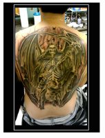grim reaper backpiece tattoo by kayden7