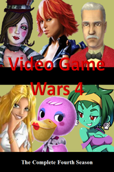Video Game Wars 4 DVD Cover by DARealityTV