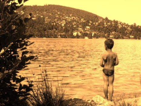 Boy at Gerardmer by fayou