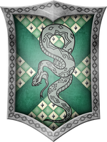 Slytherin Crest by GeijvonTaen