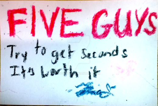 LAWL FIVE GUYS XD by Fario-P