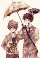 spamano rainy days by 3kitty9