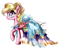 Commission - Gala Gown for Bay Breeze by selinmarsou