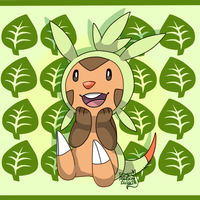 Chespin by PsykoaktiveFantasi