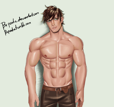 Tale of Zestiria Sorey in hunk form lol by BRpanha