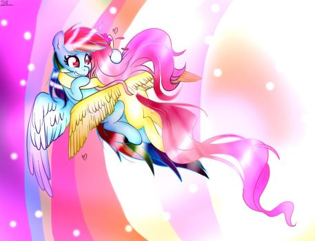 Collab With Amoeba95~ by Winter-Shadow7
