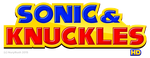 Sonic And Knuckles HD Logo Remake by NuryRush