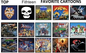 Jefimus Top 15 All Time Favorite Animated Series by JefimusPrime
