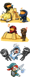 Rvb Doodles 3 by No-pe