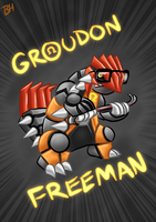 Groudon Freeman by BeckHop