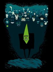 Mr. Green and his awesome army by MaComiX