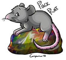 Pack Rat by Kitsumon