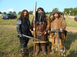 Thorin, Bifur and Bofur by Jathoris