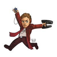 Star Lord by pencilHead7