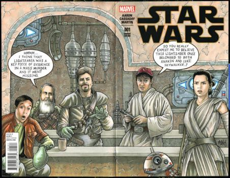 Star Wars Comic Book Men by Frisbeegod