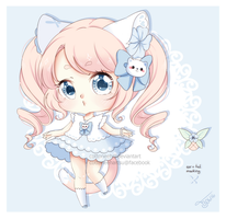[Closed] Summer blue by Cottoneeh