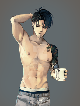 Good Mornevening, Levi by Roxoah