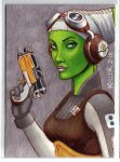 Hera Syndulla ACEO by Rathskeller7