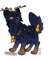 Evening Blue Jinwa - Adopt Auction - Closed by BKcrazies0