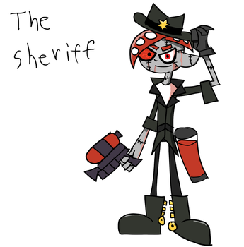 splatoon the sheriff by BloodHaven666