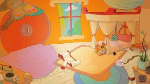 Griotte Bedroom - Lay-out by Z-Oras