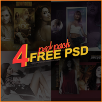 PSD PACK (part 3) monagory [4 FREE PSD] by monagory