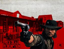 Red Dead Redemption Poster by xRedhawkAcex